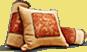 Покрывала, подушки и валики